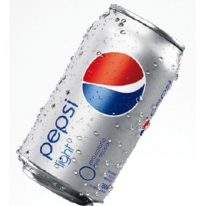 Pepsi lata 350 ml  Light