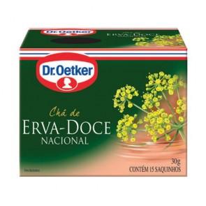 Chá Erva Doce Oetker 15 saq