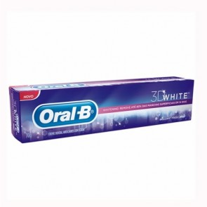 Creme dental 3D White Oral- B 70 g