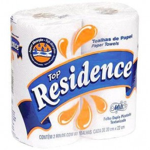 Papel Toalha Residence 2 x 55