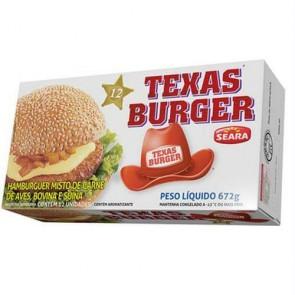 Texas Burguer Seara 672 g