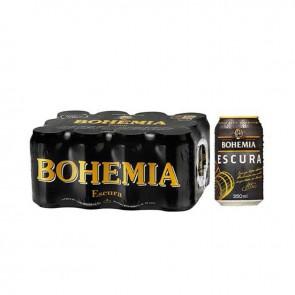 Cerveja Bohemia Escura pack 12 x 350 ml