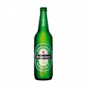 Cerveja Heineken descartável 600 ml