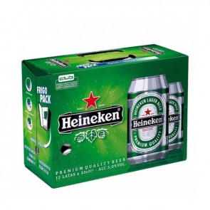 Cerveja Heineken pack 12 x 350 ml