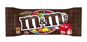 Chocolate Confeitado Sabor Chocolate ao Leite M&M's 52g