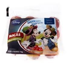Maçã Fuji Disney Pacote 1kg
