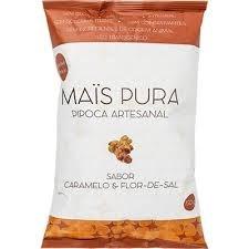 Pipoca Caramelo/Flor de Sal Mais Pura 150g