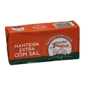 Manteiga Extra Aviação Com Sal 200g