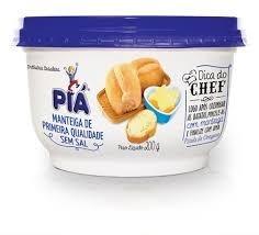 Manteiga Pia sem sal 200g