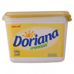 Margarina Cremosa Doriana 500g Com Sal