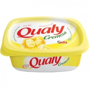 Margarina Cremosa Qualy com sal 250g