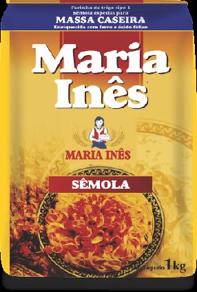 Farinha de Trigo Sêmola Maria Inês 1kg