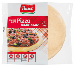 Massa para Pizza Pavioli Trad. 150g