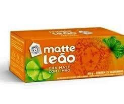 Chá Matte Leão Limão c/25 Saquinhos