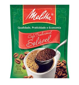 Café Tradicional Solúvel Melitta 50g