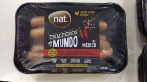 Linguiça de Frango Temperos do Mundo MÉXICO Nat 500g