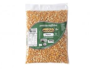 Milho Pipoca Orgânico Ecobio 500g