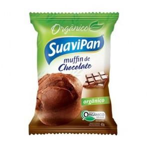 Muffin Chocolate Orgânico Suavipan 400g