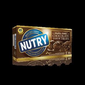 Barra Chocolate Sabor Trufa Nutry 60g