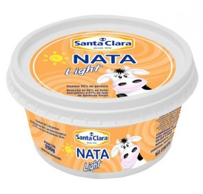 Nata Light Santa Clara 200g