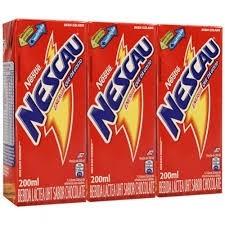 Achocolatado liquido Nescau Nestlé  200ml