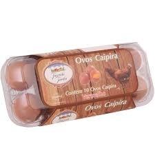 Ovos Caipira c/6 Nutriovos