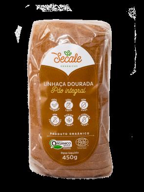 Pão integral Orgânico Linhaça Dourada Secale 450g