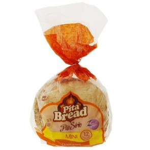 Pão Sirio Mini Pita Bread 300g
