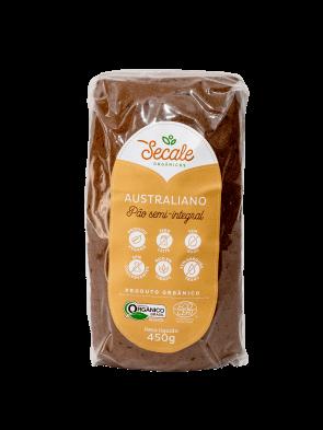 Pão Semi Integral orgânico Australiano Secale 450g