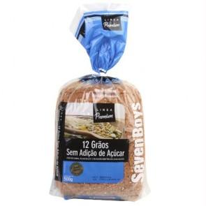 Pão 12 grãos Seven Boys 500g