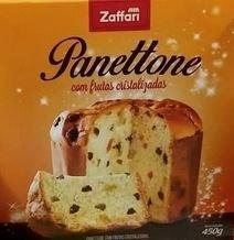 Panettone Frutas Zaffari 450g