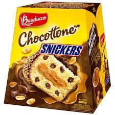 Panettone Chocottone Snickers Bauducco 550g