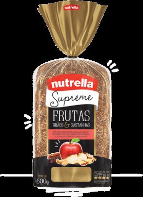 Pão Supreme Frutas Nutrella 600g