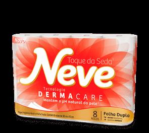 Papel Higiênico Neutro Neve 8 rolosx50m