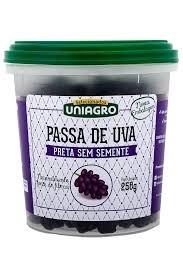 Passa de Uva Preta Uniagro 250g