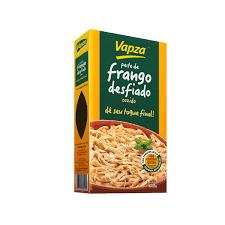 Peito de Frango desfiado cozido Vapza 400g