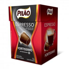 Cápsulas Café Pilão Espresso Fortíssimo 10unid.