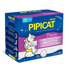 Granulado Higiênico Para Gatos Premium Perfumado Pipicat Kelco 5kg