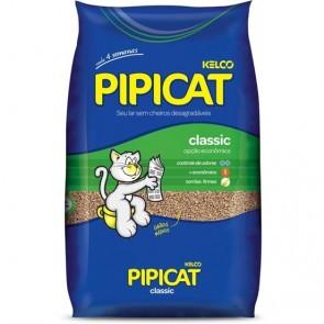 Areia Higiênica Para Gatos Pipicat Classic Kelco 4kg