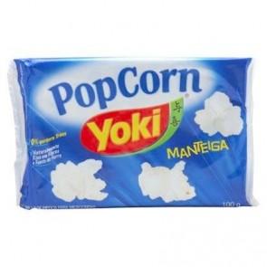 Pipoca Manteiga Yoki 100g