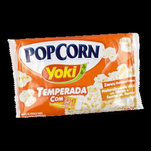 Pipoca Temperada Toque do Chef Yoki 100g
