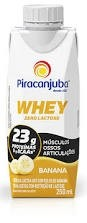 Bebida Láctea Whey Banana Z/Lactose Piracanjuba 250ml