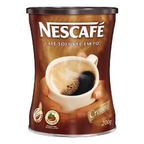 Café em Pó Cremoso Nescafé 180g