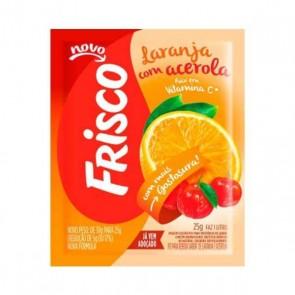 Suco em pó Frisco Laranja/Acerola 25 gr