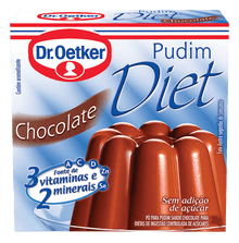 Pudim Diet Chocolate Dr. Oetker 25g