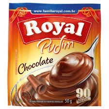 Pudim Chocolate Royal 50g