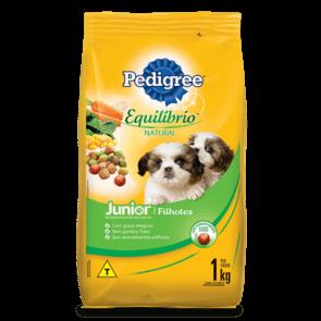 Ração Pedigree Equilíbrio Natural Para Cão Filhote 1kg