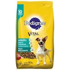 Ração Pedigree Para Cão Adulto de Raça Pequena 10,1kg