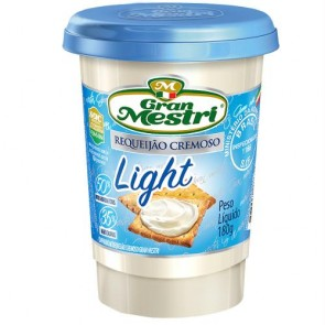 Requeijão Light Gran Mestri 180g
