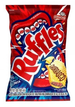 Ruffles Churrasco Elma Chips 96g